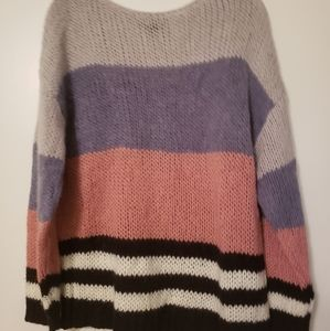 Oversized Lucky Brand super cute soft sweater